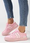 Różowe Sneakersy Aluvere