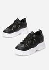 Czarne Sneakersy Calyreisis