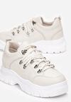 Beżowe Sneakersy Calyreisis