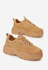 Camelowe Sneakersy Merellien
