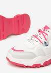Biało-Fuksjowe Sneakersy Lucidness