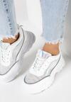 Białe Sneakersy Maryfer