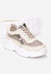 Beżowe Sneakersy Maryfer