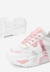 Biało-Różowe Sneakersy Radiancy