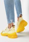 Żółte Sneakersy Prisolphi