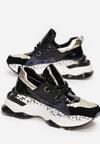 Czarne Sneakersy Prosis