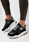 Czarne Sneakersy Eirerial