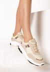 Jasnobeżowe Sneakersy Eirerial