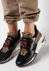 Czarne Sneakersy Livesey