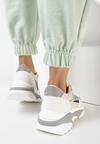 Beżowe Sneakersy Thonimoni