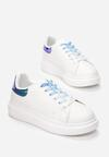 Biało-Niebieske Sneakersy Pop Of Colour