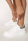 Białe Wężowe Sneakersy Hypnotic