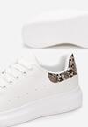 Biało-Brązowe Sneakersy Hypnotic