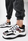 Czarno-Białe Sneakersy Foggyvine