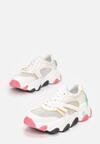 Białe Sneakersy Evimellia