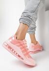 Różowe Sneakersy Pardia