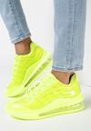 Limonkowe Sneakersy Pardia
