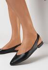 Czarne Sandały Adrewai