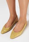 Żółte Sandały Adrewai