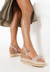 Beżowe Sandały Amalikea