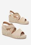 Beżowe Sandały Pisirei