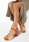 Beżowe Sandały Aegasura