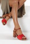 Czerwone Sandały Aegasura