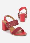 Czerwone Sandały Salonise