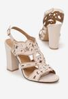 Beżowe Sandały Delalise