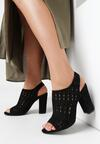 Czarne Sandały Euphelea