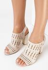 Beżowe Sandały Euphelea