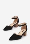 Czarne Sandały Thessafa