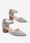 Niebieskie Sandały Phriete