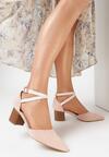 Różowe Sandały Phriete