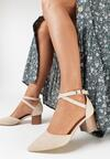 Beżowe Sandały Phriete