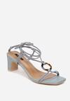 Niebieskie Sandały Avameda