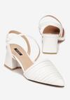 Białe Sandały Diafer