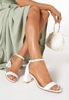 Białe Sandały Nedanos