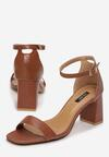 Brązowe Sandały Nedanos