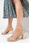 Beżowe Sandały Nonamis