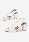 Białe Sandały Lorelle