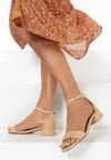 Beżowe Sandały Chamine