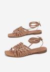 Beżowe Sandały Nephelea