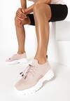 Różowe Sneakersy Amaliteia