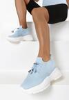Niebieskie Sneakersy Amaliteia
