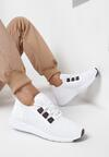 Białe Buty Sportowe Delabelle