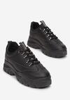 Czarne Sneakersy Tinyss