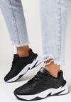 Czarno-Białe Buty Sportowe Cliffdream