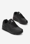 Czarne Buty Sportowe Himemenis