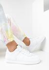 Białe Buty Sportowe Melome